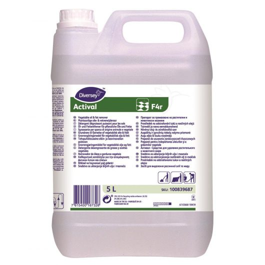 Diversey Actival 2x5L - Alkaline heavy duty cleaner