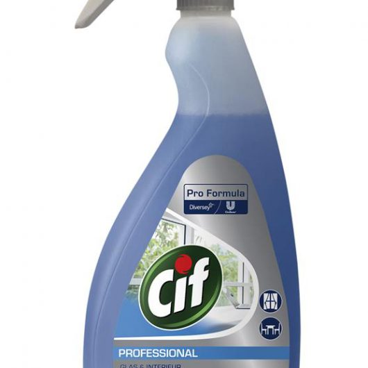 Cif Professional Cif Professional Glass & Multi Surface 6x0.75L - 101101906 kopen bij Cleaning Store