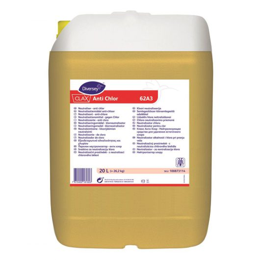 Clax Clax Anti Chlor 20L - Neutralizer for alkalinity and bleach - 100873114 kopen bij Cleaning Store
