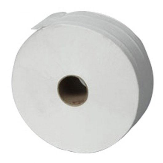 No Brand DIB Toilet Roll Maxi Jumbo White 6pc - D7524329 kopen bij Cleaning Store