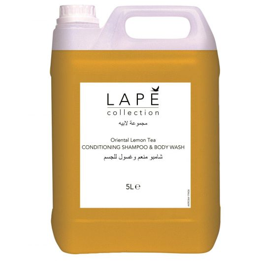 LAPE Collection LAPE Collection O.L.T. Conditioning Shampoo & Body Wash 2x5L - Oriental Lemon Tea - 100977377 kopen bij Cleaning Store