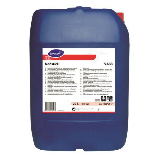Diversey Nonstick 20L - Acidic detergent descaler for hard cheese mould cleaning - 100842647 kopen bij Cleaning Store