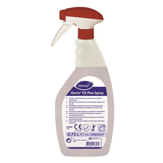 Diversey Oxivir CE Plus Spray 6x0.75L - Broad spectrum cleaner and disinfectant - 100829237 kopen bij Cleaning Store
