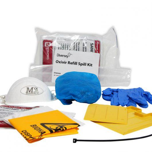 Diversey Oxivir Refill Spill Kit 4x2pc - 100842411 kopen bij Cleaning Store