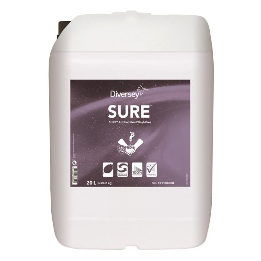 SURE SURE Antibac Hand Wash Free 20L - Perfume and dye free antimicrobial hand wash - 101104068 kopen bij Cleaning Store