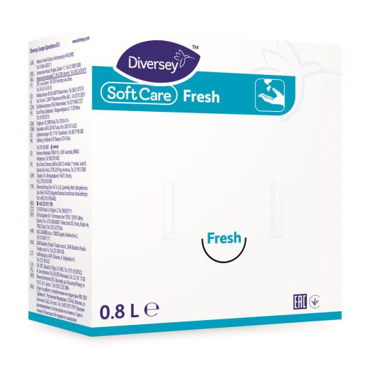 Soft Care Soft Care Fresh 6x0.8L - Smooth general handwash - 6960300 kopen bij Cleaning Store