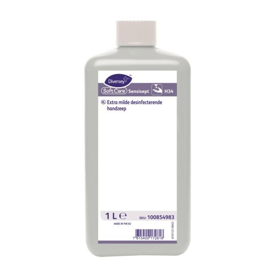 Soft Care Soft Care Sensisept H34 10x1L - Extra mild hand wash and disinfectant - 100854983 kopen bij Cleaning Store