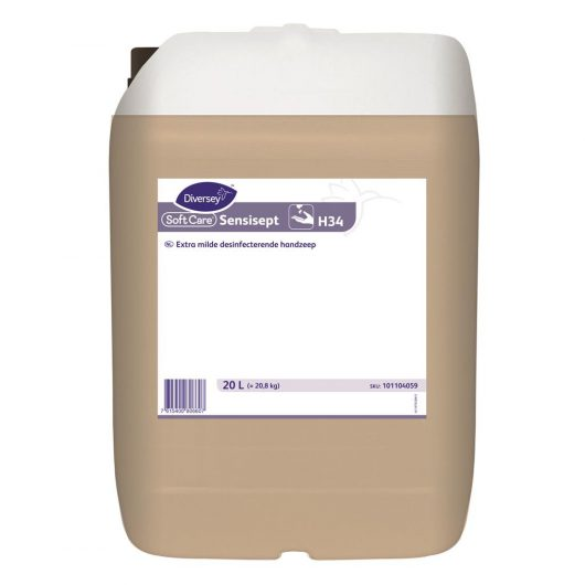 Soft Care Soft Care Sensisept H34 20L - Extra mild hand wash and disinfectant - 101104059 kopen bij Cleaning Store