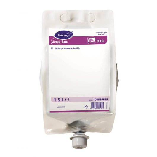Suma Suma Bac 4x1.5L - Detergent disinfectant - 100869689 kopen bij Cleaning Store
