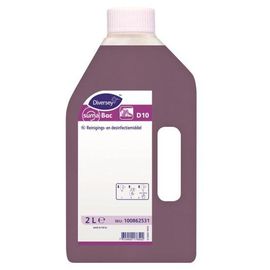 Suma Suma Bac 6x2L - Detergent disinfectant - 100862531 kopen bij Cleaning Store