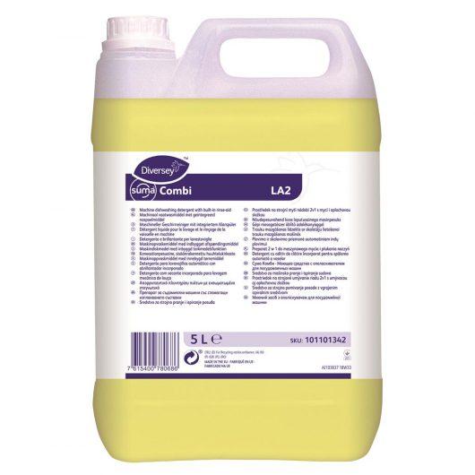 Suma Suma Combi 2x5L - Liquid machine dishwash detergent with built-in rinse-aid - 101101342 kopen bij Cleaning Store