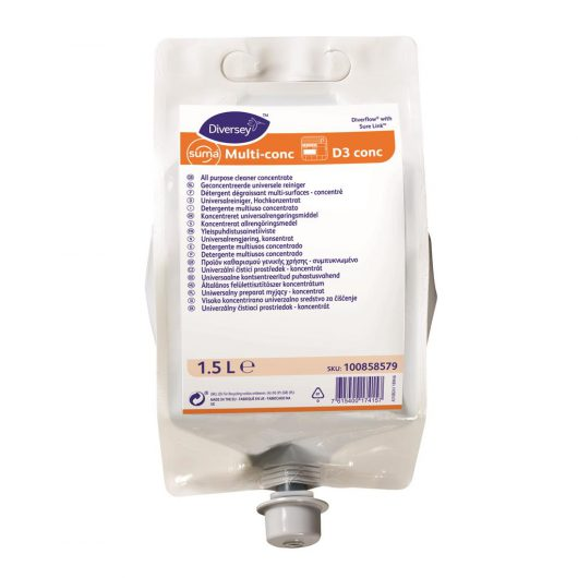 Suma Suma Multi-conc 4x1.5L - Highly concentrated all purpose cleaner - 100858579 kopen bij Cleaning Store