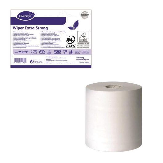 Diversey Wiper Extra Strong 2ply 2pc - 7518271 kopen bij Cleaning Store