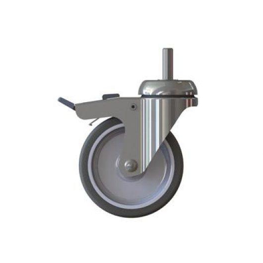 60927-98 Wheel with stopper - 4130912 kopen bij Cleaning Store