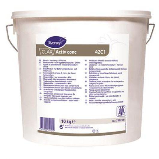 Clax Activ conc 10kg - Bleach - low temp - hypochlorite - 7522351 kopen bij Cleaning Store