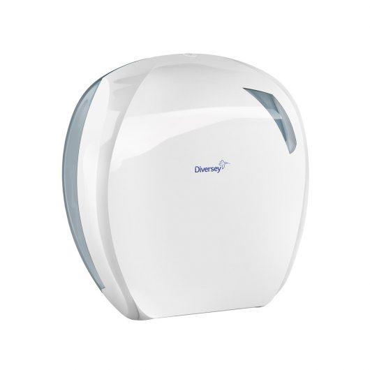 Diversey Mini Jumbo toiletrol dispenser wit - D1228917