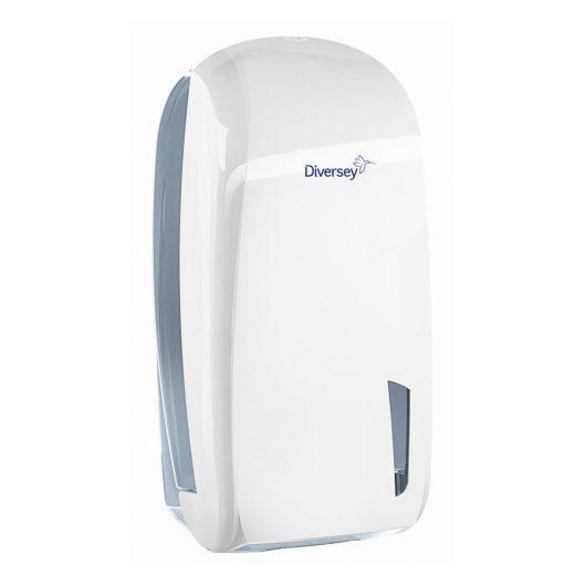 Diversey gevouwen toilet tissue dispenser wit - D1228918