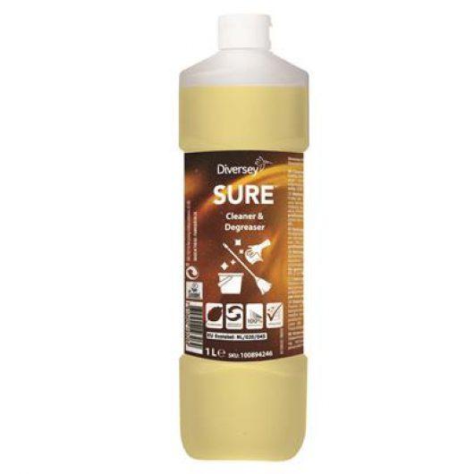 SURE Cleaner & Degreaser 6x1L - Heavy duty degreaser and floor cleaner - 100894246 kopen bij Cleaning Store