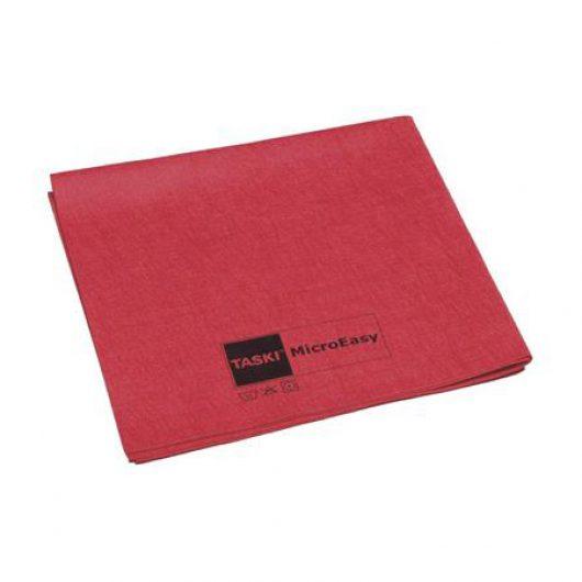 TASKI MicroEasy reinigingsdoek rood 5 stuks - 7514574