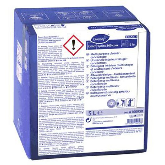 TASKI Sprint 200 conc 5L Cb W561 - A100958 kopen bij Cleaning Store