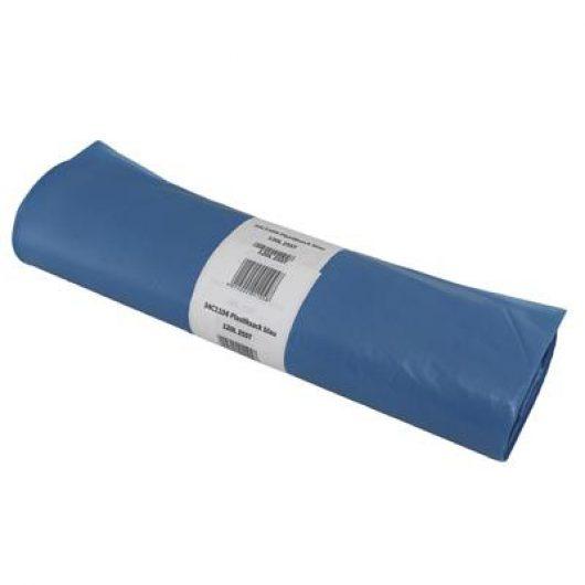 Wastebag 80x110 Blue 130L LDPE 1x25pc W1 - 34C1104 kopen bij Cleaning Store