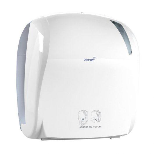 Diversey elektronische handdoekdispenser wit - D1228912